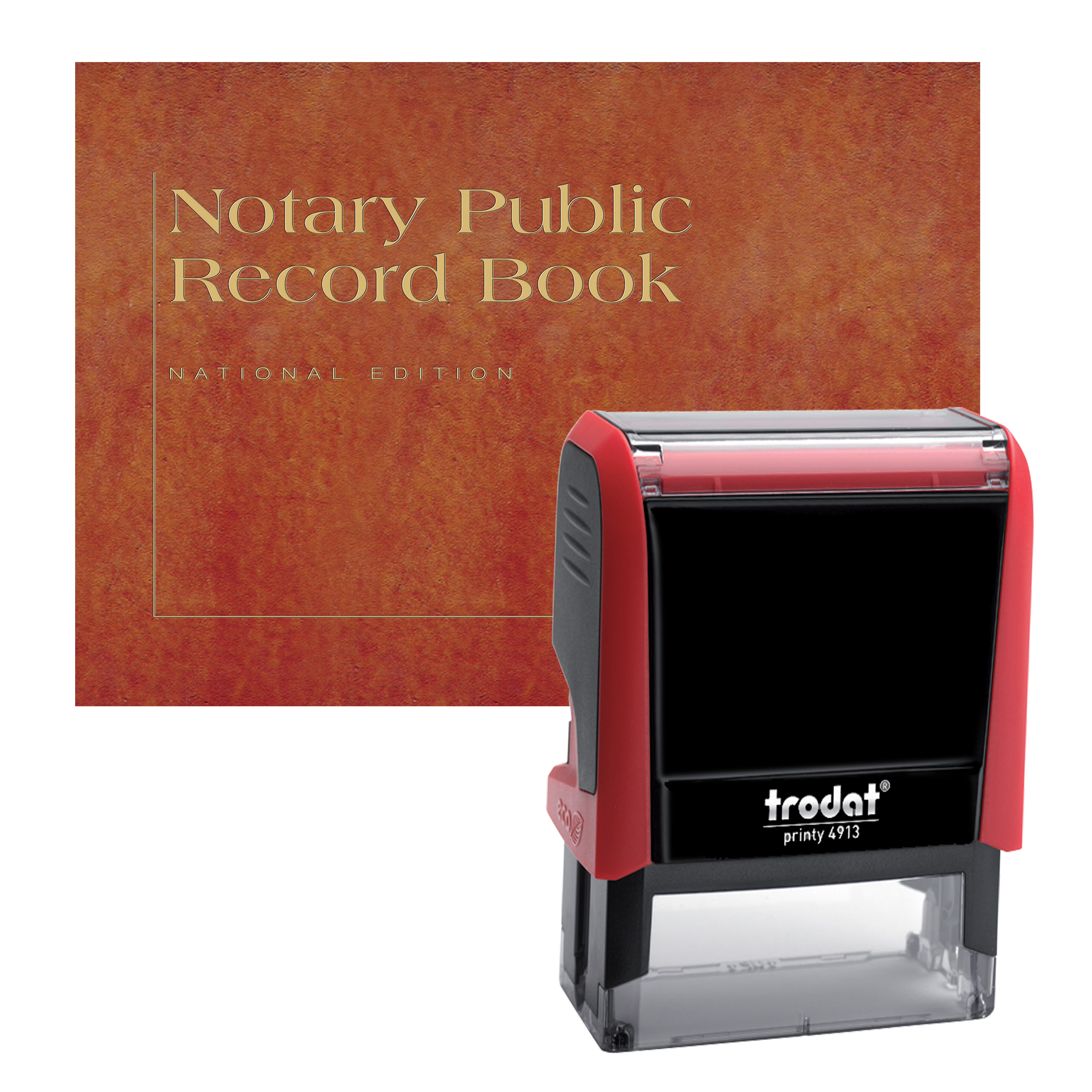 Arkansas Notary Supplies Value Package - Includes Trodat P4 Notary Stamp