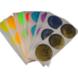 Silver, Gold, and Colored Foil Seals